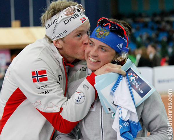 """Simon fourcade: """"tarjei boe goes to moscow to get married"""""""