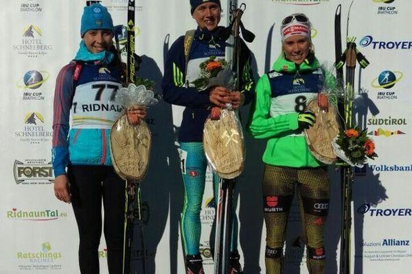 Россиянка Ульяна Кайшева выиграла гонку преследования наэтапе кубка IBU