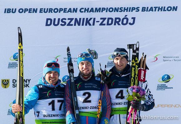 Житель россии Логинов стал двукратным чемпионом Европы побиатлону