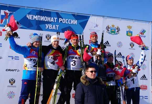 Гараничев одержал победу гонку преследования начемпионате РФ побиатлону