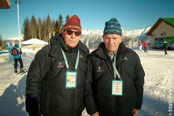 Александр Привалов и Виктор Маматов в Сочи, 2012 г