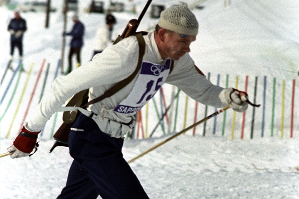 Виктор Маматов на Олимпийских играх в Саппоро, 1972 г.
