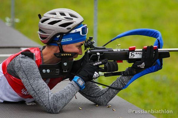 Югорские биатлонисты выиграли чемпионат РФ вэстафете