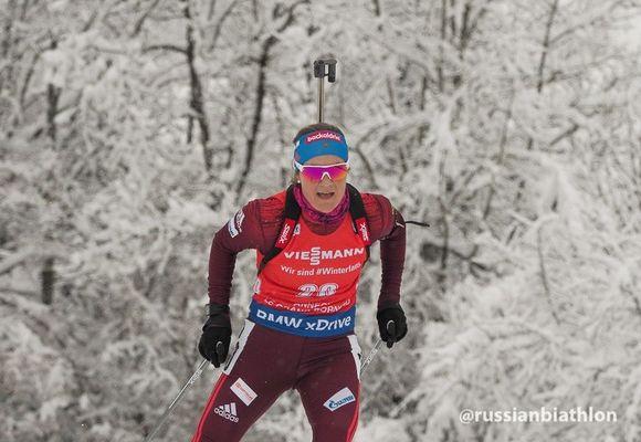 Биатлонистка Джима вошла втоп-10 масс-старта этапа Кубка мира