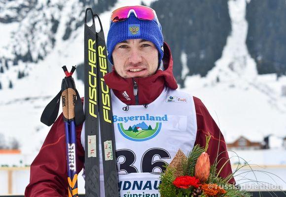 Логинов стал вторым вспринте начемпионате Европы побиатлону