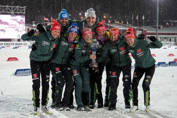 Русские биатлонистки провалили спринт наэтапе Кубка мира вТюмени