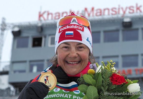 Биатлонист Бабиков завоевал золото чемпионата Российской Федерации вгонке преследования